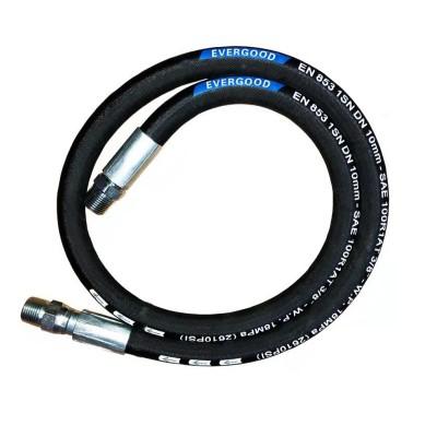braided hydraulic hose sae 100 r1at