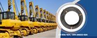 4 laidų spiralės aukšto slėgio hidraulinių žarnų gamintojai tiekia 4SH žarną