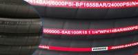 Pagal užsakymą pagaminta aukšto slėgio hidraulinė žarna SAE 100 R15 su hidraulinėmis jungiamosiomis detalėmis šalia manęs