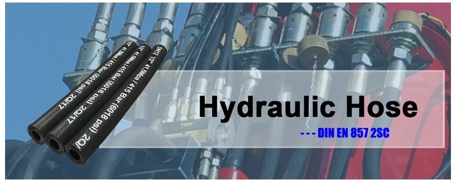 Hydraulic Supply Company Veľkoobchodná pletená hydraulická hadica EN 857 2SC s najlepšou cenou