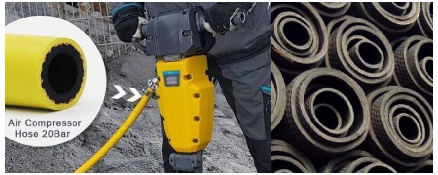 Meilleur tuyau de compresseur d'air en vrac personnalisé au prix d'usine avec la meilleure qualité