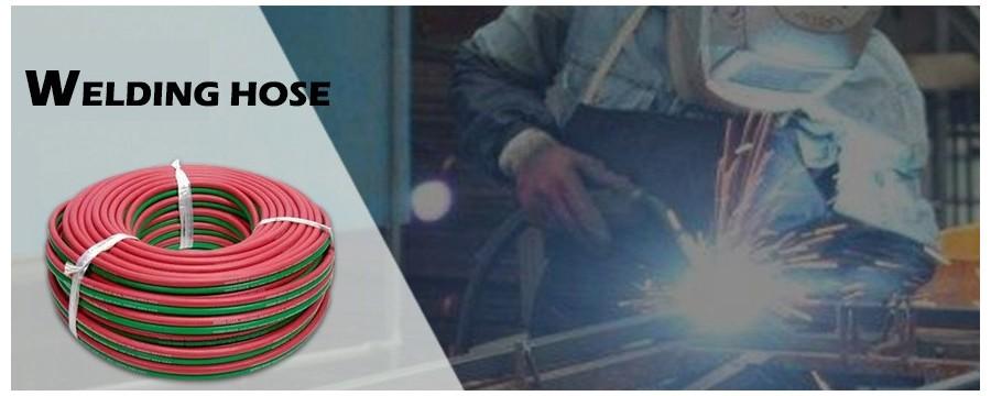 eBay Hot Oxy Acetileno Manguera de soldadura con precio de fábrica y alta calidad a la venta