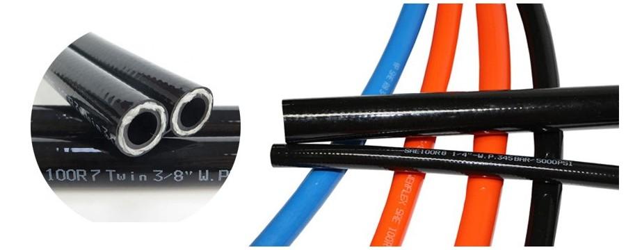 Geriausi termoplastinės žarnos gamintojai tiekia geriausios kokybės SAE 100 R7 R8 žarną