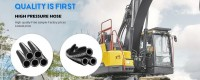 Factory Price Anti-Million Impulse Very High Pressure Hydraulic hose For sale