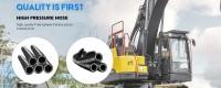 Tuyau hydraulique très haute pression d'impulsion anti-million de prix d'usine à vendre