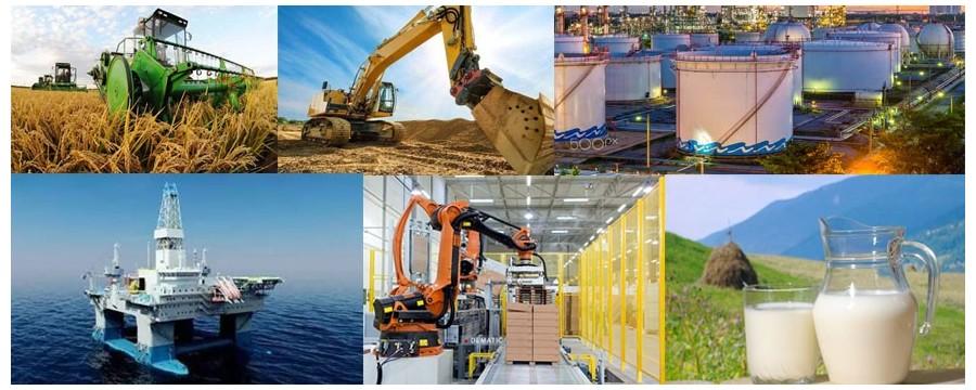 De bästa tillverkarna av hydraulslangar levererar hydraulslang och industrislang till Industries