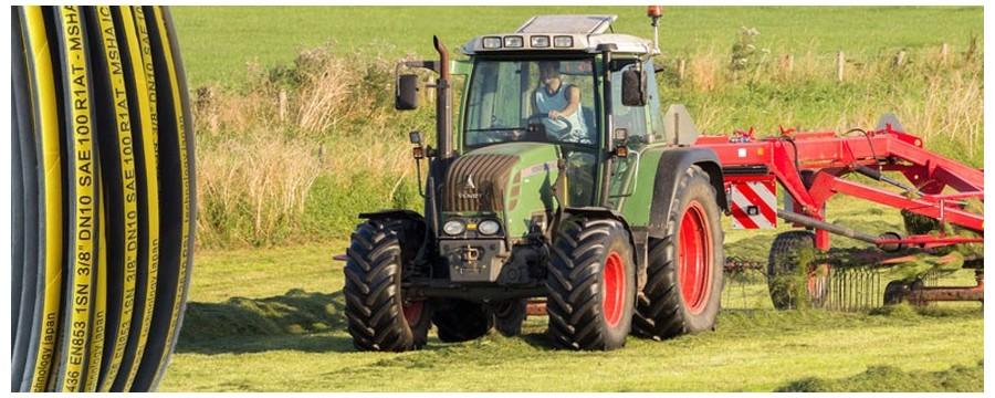 Beste hydraulische slangfabrikant levering tractor hydraulische slang voor landbouw