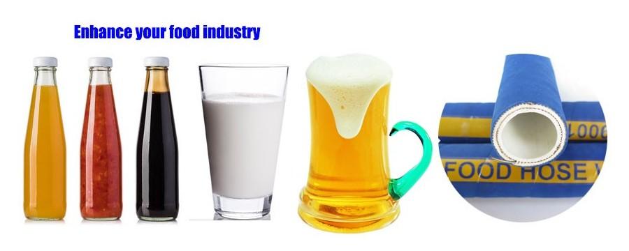 Špičkoví dodávatelia priemyselných hadíc veľkoobchodne potravinárske potrubie pre potraviny a nápoje