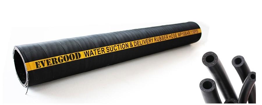Najkvalitnejšia vysokovýkonná gumová vodná hadica na horúci predaj na Amazone s továrenskou cenou