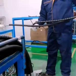 mūžīgi strādājošo pasūtījuma hidraulisko šļūteņu montāža rūpnīcā