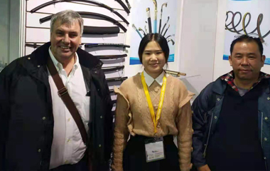 hydraulic rubber hose pipe factory attend exhibition