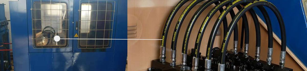evergood hydraulic hose factory make impulse test