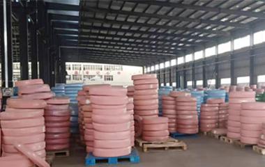 high pressure bulk hydraulic hose in factory
