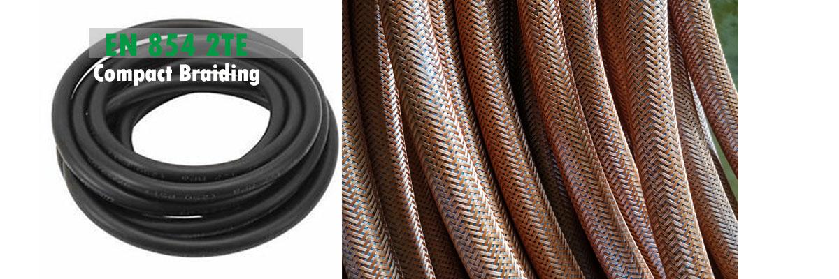 hydraulic hose supplier manufactureing smooth en 854 2te