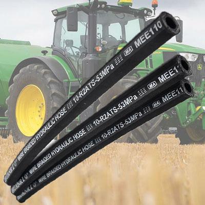 elastīgu cauruļu ražotājs piegādā traktora hidraulisko šļūteni