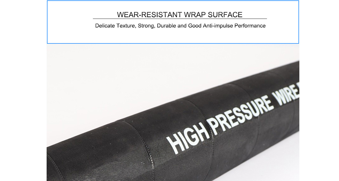 Fabricants de tuyaux hydrauliques haute pression à 4 fils